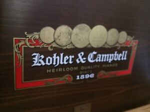 Antique 1920s Kohler & Campbell Piano