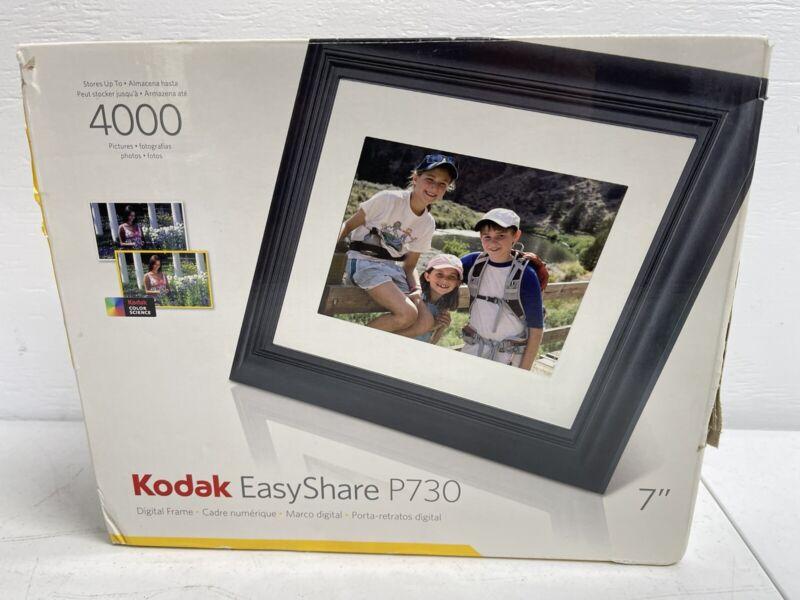 """Kodak Easy Share 7"""" Digital Photo Frame P730 open Box"""