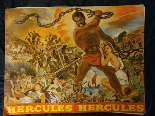 HERCULES 1959  Pressbook
