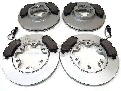 FORD TRANSIT MK8 RWD 16-19 FRONT & REAR BRAKE DISCS AND PADS (READ LISTING)