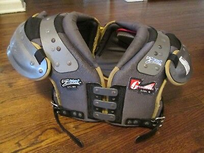 Cool Football Gear (GEAR 2000 Z-COOL JR J.V.-80 YOUTH LARGE FOOTBALL SHOULDER PADS 15