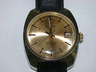 """Swiss """"DUVAL"""" Automatic 17 Jewel Mechanical Wristwatch. 123C"""