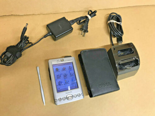 Dell Axim X30 Pocket PC PDA with Dock Cradle and Charger