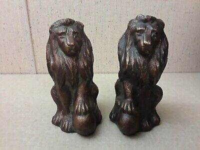 Heavy Copper Lion Statues