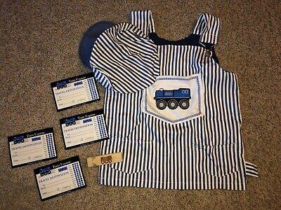 Imaginarium Train Conductor Railroad Engineer 7 pc Toddler Costume Dress up