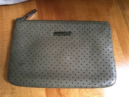 Mimco medium leather pouch
