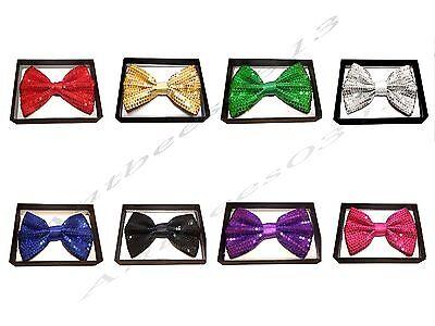 New Tuxedo Sequin Bow Tie Neckwear Adjustable Men's Bow Tie - Sequin Bow Ties