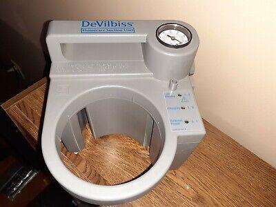 Devilbiss 7305p-d Homecare Suction Unit Portable Aspirator