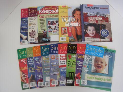 Simple Scrapbooks Magazines + CK Big Idea Book Vacations & Award-Winning Pages