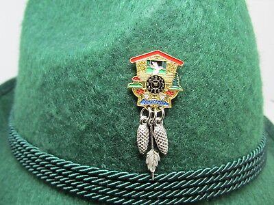 Cuckoo Clock  Oktoberfest Hat Pin