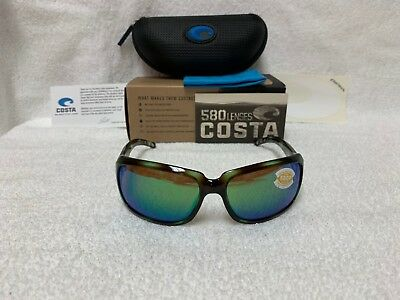 NEW Costa Del Mar Isabela Polarized Sunglasses Seagrass Green 580P IB 128 (Costa Isabela)