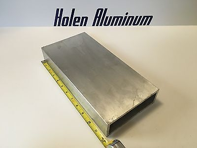 2 X 6 X 12 X 14 Wall Rectangle Aluminum Tubing