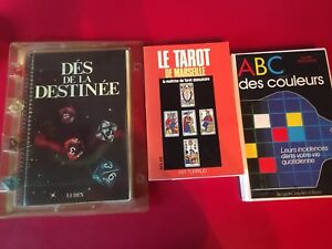 French books & dice game $20.00