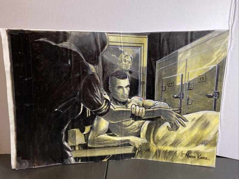 Original Storyboard Concept Art by Nikita Knatz- Van Damme