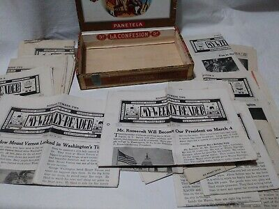 Lot Of 17 1933 My Weekly Reader Children's Newspapers. B15