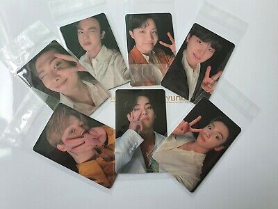 New BTS BE Deluxe Lucky Draw M2U Photocard Grammy Awards All Members(7ea)