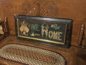 Antique Home Sweet Home Picture