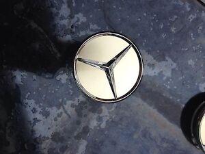 Gold Mercedes wheel centre caps x4 Beenleigh Logan Area Preview