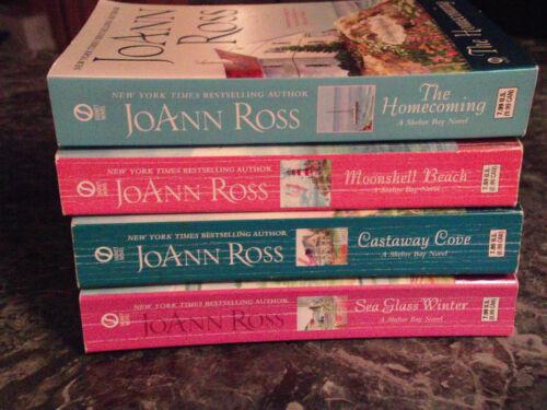 JoAnn Ross lot of 4 Shelter Bay Series contemporary romance paperbacks