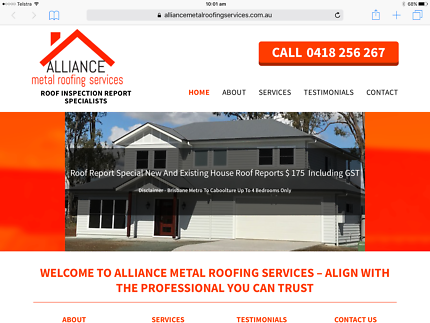 Alliance metal roofing services