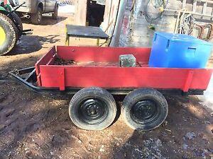 4 x 8 around the yard type trailer