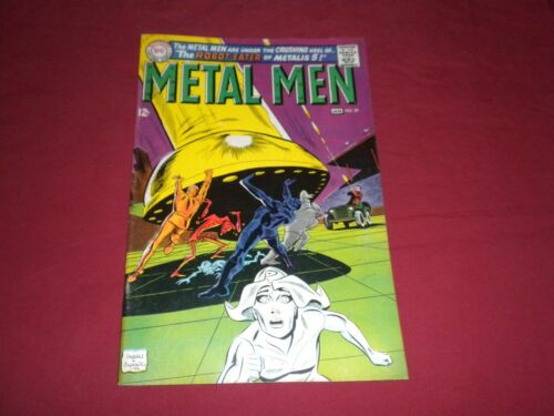 Metal Men #29 dc 1968 silver age 7.5/vf- comic! See store! WOW!