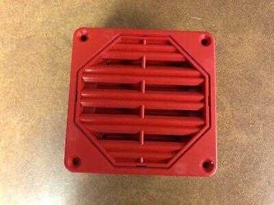 Federal Signal Fss 660 Fss660 Red Fire Alarm Horn