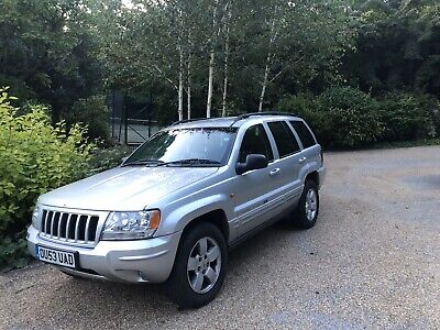 Highly sought-after Jeep Grand Cherokee - dual fuel petrol/gas 4.7L