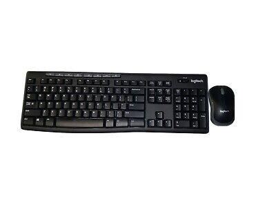 Logitech MK270 Wireless Keyboard & Mouse Combo 920-004536 FAST FREE SHIP, No Box