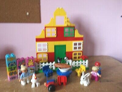 Lego Duplo Set Bundle, House, Animals And Figures
