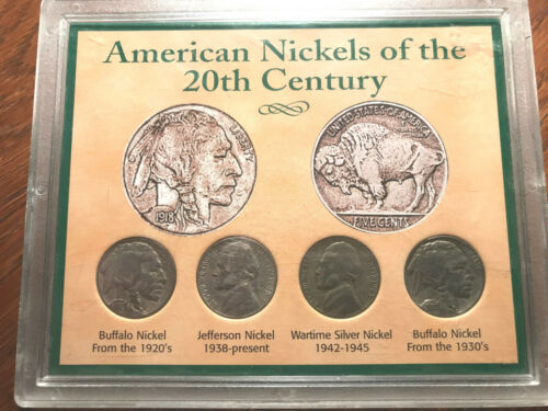 American Nickels of the 20th Century Set #2221