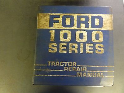 Ford 1100 Tractor Repair Manual