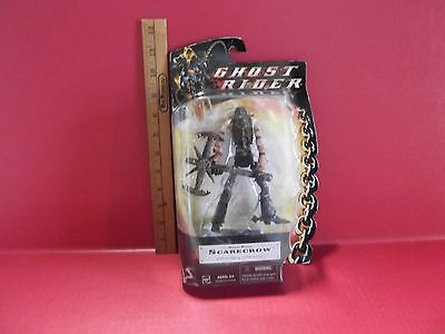 "Ghost Rider Scarecrow 6""in Creepy Figure w/Swinging Sickle Action Hasbro 2007"