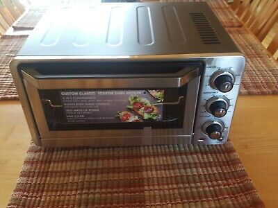 Cuisinart TOB-40 Custom Classic Toaster Oven Broiler -Stainless