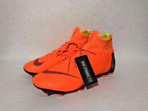 New Nike Mercurial Superfly 6 Pro FG Flyknit Soccer Cleats AH7368-810 Men Sz 9.5