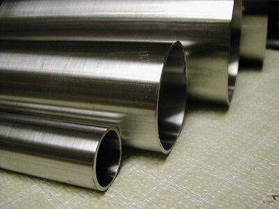 58 Od 0.035 Wall X 12 Length Weld 316316l Stainless Round Tubing