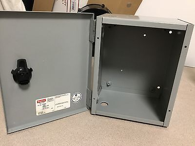 Hoffman A10n86 Nema Type 1 Electrical Enclosure Junction Steel Metal Hinged Box