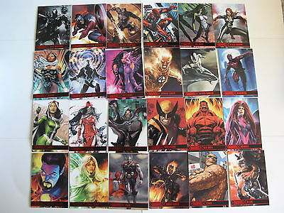2012 Marvel Greatest Heroes 81 Card Set by Rittenhouse