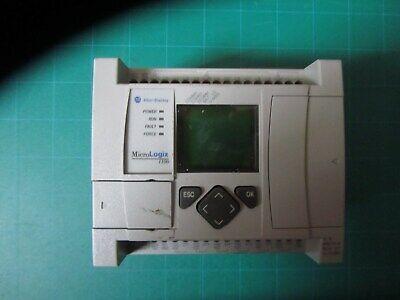 Allen Bradley Micrologix 1100 1763-l16awa Series B Frn 9.0 Used.