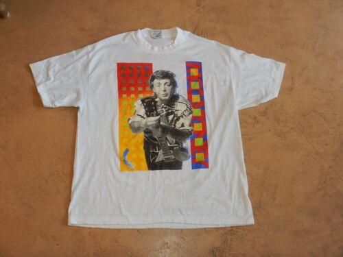 VINTAGE, ORIGINAL PAUL MCCARTNEY - WORLD TOUR 1989-1990, XL CONCERT T-SHIRT