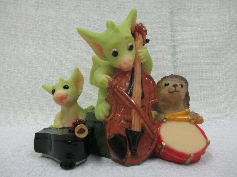 Whimsical World Of Pocket Dragons Quartet Real Musgrave NIB