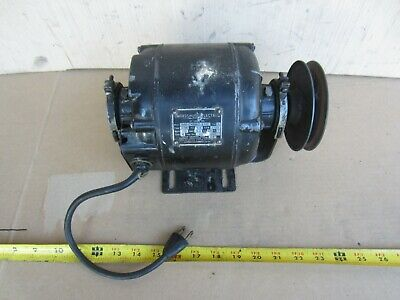 Emerson 13 Hp 1725 Rpm 115 V Single Phase 58 Shaft With Pulley
