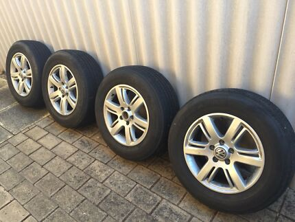 245/65R17 Rims and tyres VW Amarok