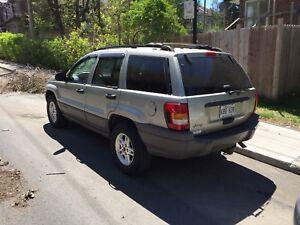 2004 Jeep Grand Cherokee, A/C, 4L, no rust