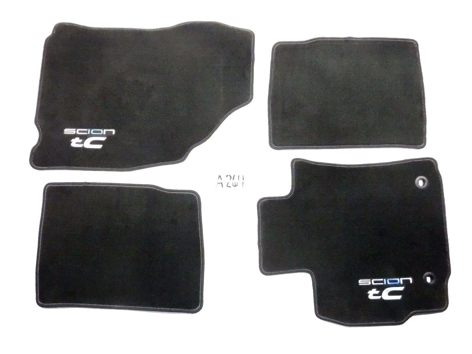 Floor mats used - Oem Black Floor Mats Set 4 Piece Front Rear 2014 2016 Scion Tc Nice Used