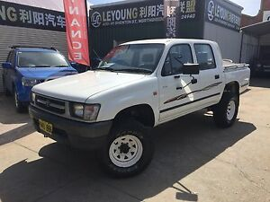 Toyota Hilux 4x4 manual diesel Northbridge Perth City Area Preview
