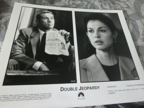 """DOUBLE JEOPARDY"" TOMMY LEE JONES/ASHLEY JUDD ORIGINAL STILL/SLIDE SET!"