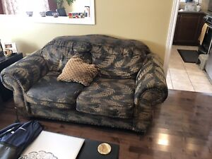 Brown Sofas (2 pieces) - Pick up only