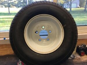 New Snowmobile Trailer Tire