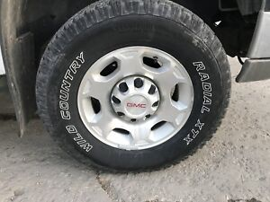 LT265/70R17 Wild country tires